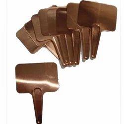 Copper Metal Name Labels