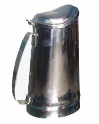 Steel Water Pitcher W/lid