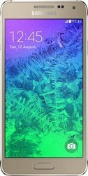 Samsung Galaxy lpha Frosted Gold