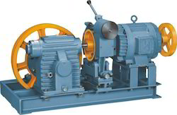 Upper Elevator Traction Machine