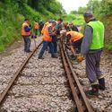 Railway Line & Tunnel Construction