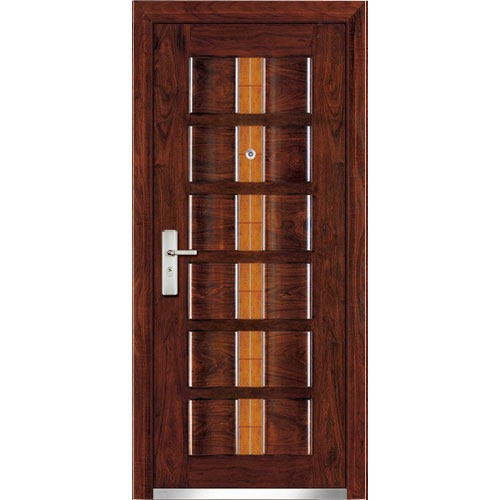 Indian teak wooden doors design for Modern single front door designs for houses