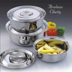 Arabian Chetty Stainless Steel Utensils Set
