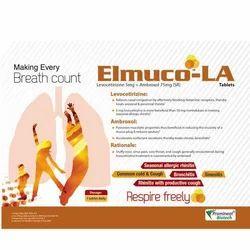 Levocetirizine 50 mg Ambroxol 75 mg