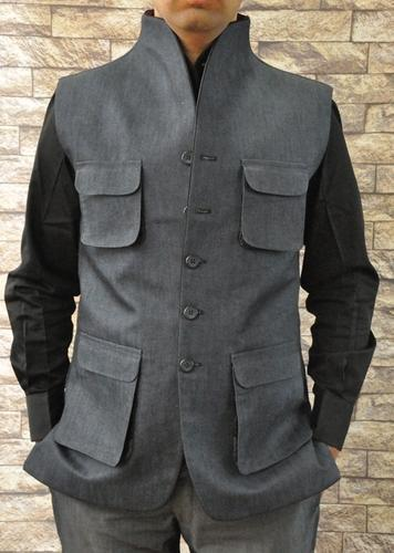 Raj Indo Collar Jacket Men Shirts Jeans Clothing Incredible