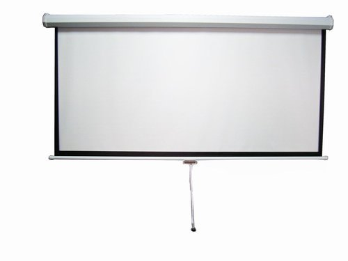 Manual Pull Down Wall Mount Projector Screen