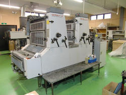 Komori S 226 Two Color Offset Printing Machine