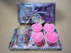 Multicolor CNF Candle Gift set