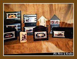 Letter boxes Wood Craft