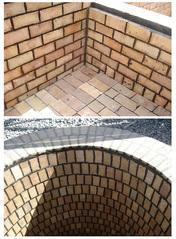 Straight Brick Brown Acid Proof Refractory Bricks, For Side Walls, Size: 9X4.5X3