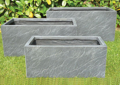 FRP Stone Look Planter