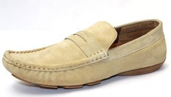 Suede Leather Loafers Shoes