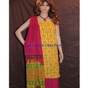 Churidar Suit with Chiffon Dupatta