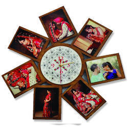 Wall Clocks Family Photo Frame