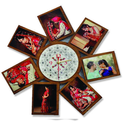 Wall Clocks Family Photo Frame At Rs 250 Piece ऊषमयन