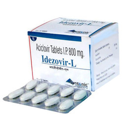 Tablet Aciclovir 800mg 10x10