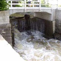 Fabricated River Gate