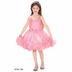 Pink Girls Frocks