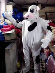 Cow Mascot with Customize