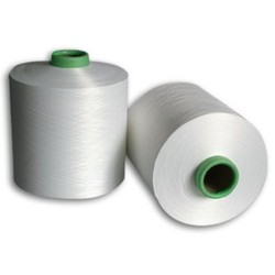 Dull Ring Spun 100% Polyester Draw Texturized Yarn, For Textile Industry, Count: N 20's