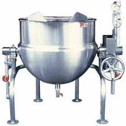 Akshar Steam Jacketed Kettle, Capacity: 30-3000 Ltrs