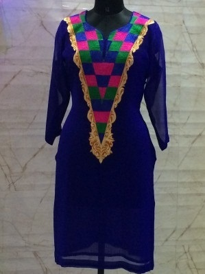 Machine Embroidery Ladies Suits Gujral And Sons Garments New