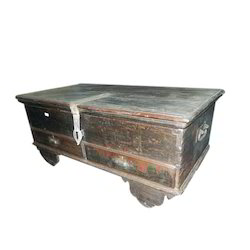 Antique Box Trunk