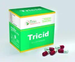 Natural Herbal Antacid Capsules - Tricid Capsule