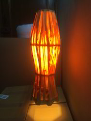 Wooden Hanging Long Light