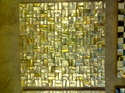 Embossed Mother of Pearl Tiles White