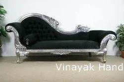 Silver Lounge Sofa