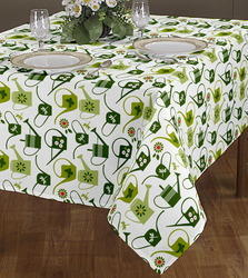 Tea Cup Printed Tablecloth