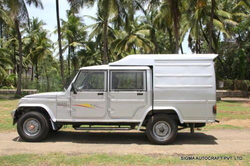 Mahindra Bolero Camper Gold Cash Van Body At Rs 100000 Unit S