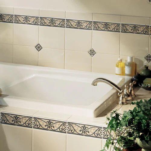 Ceramic Border Tiles Tiles Thupariman Madurai Glazeware Id