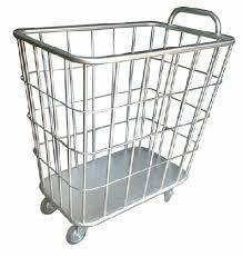 Stainless Steel Linen Trolley