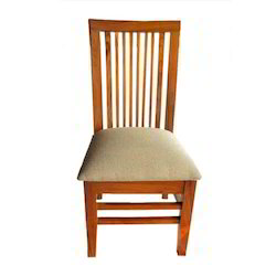 Brown Geeken Wooden Dining Chair, Size/Dimension: 18 X 15 X 37 Inch