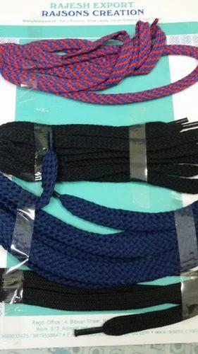 f570b6458efe98 Shoe Laces - Tubular Cotton Shoe Laces Manufacturer from Mumbai