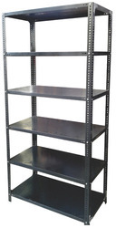 Steel Storage Shelves Slotted Angle Rack For Warehouse
