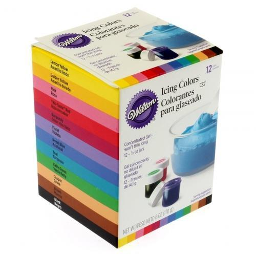 Wilton Icing Color Set Of 12