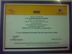 NSIC Certificate