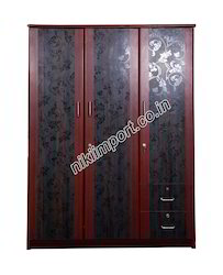 SSG Wood 3D Wardrobe