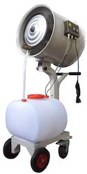 Misting Fan Trolley Mounted