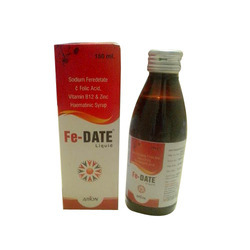 Sodium Feredetate & Folic Acid, Vitamin B12 & Zinc Syrup