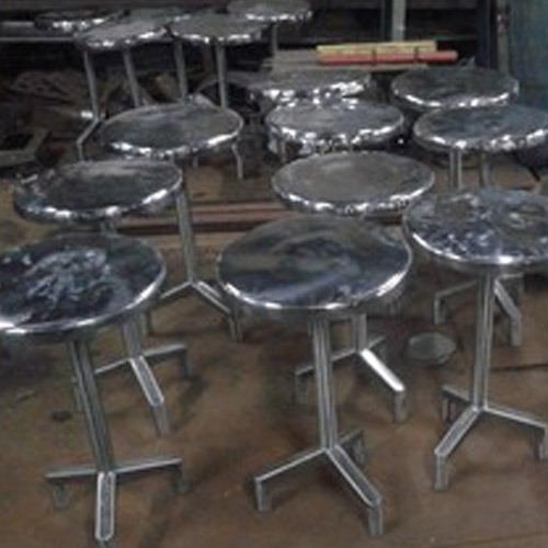 Cleanroom Furniture Stainless Steel Stool Manufacturer