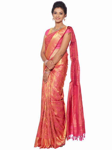 Bridal Pure Kanchipuram Saree View Specifications