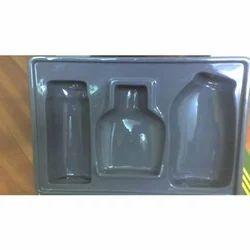 Rectangular Acrylic Perfume Display Tray Thickness 0.3 - 2 mm