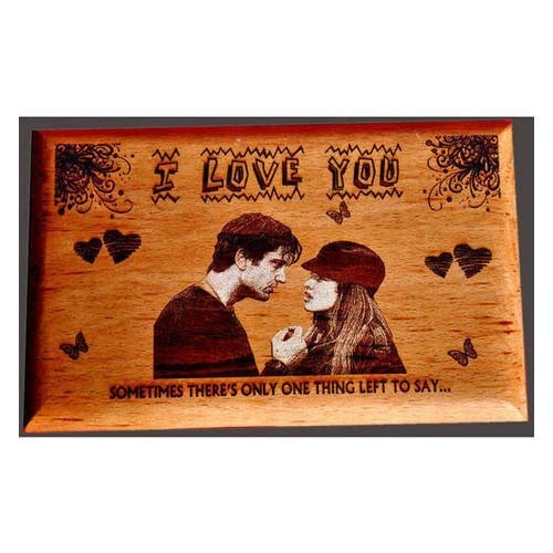 Personalized Wooden Engraving Frame
