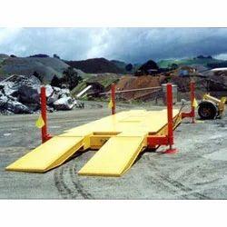 Movable Electronic Weighbridge