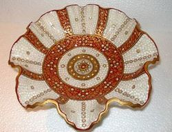 Marble Flower Tray
