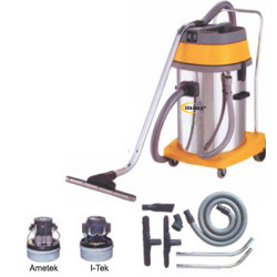 Crv 60 Ltr Stainless Steel Wet & Dry Vacuum Cleaner (2 Motor
